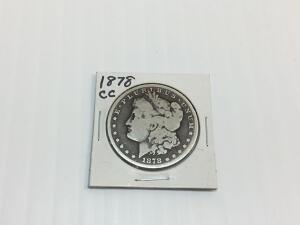 Gold Coins, Silver Coins, Morgan Dollars