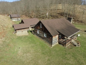 3 Bedroom Log Home & 47.75 Acres
