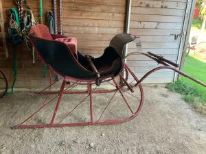 #20158 Horse Drawn Sleigh, Carts, Buggies