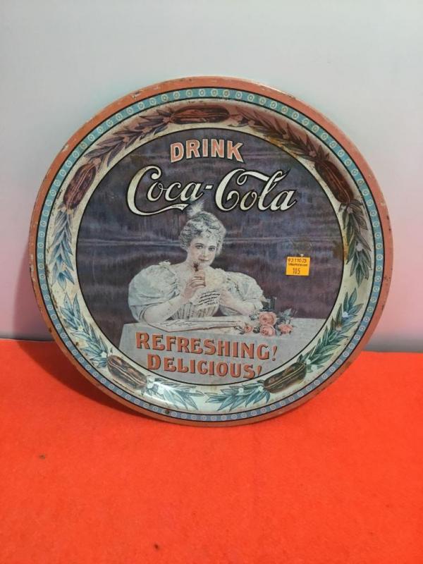 75th anniversary serialized commemorative Coca-Cola tray
