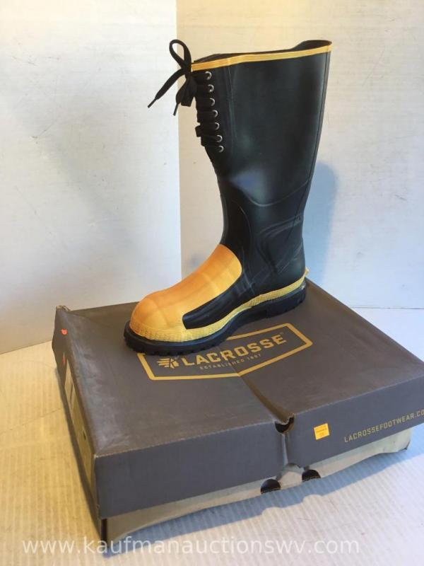 3900265799e Lacrosse size 15 M Meta-pac AP Laced rubber boots