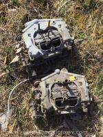 2 - 4 barrel carter Thermo quad carburetors