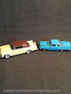 1953 Packard Carribean And 1959 Chevrolet Impala