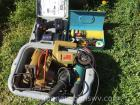 Power tools, battery drill, apple peeler etc.