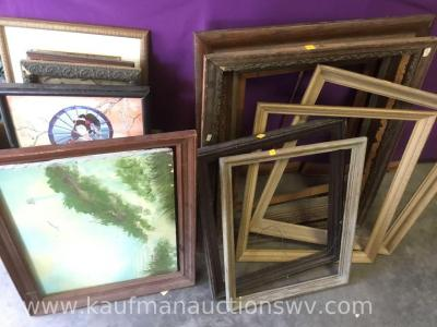 Picture frames and Framed paintings and pictures