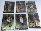 6 Upper deck Michael Jordan cards