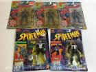 5 Marvel Spiderman action figures