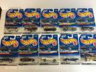 10 hot wheels diecast cars