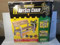 Any size chair plastic ends