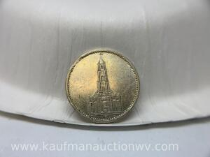 1934 silver Germany coin