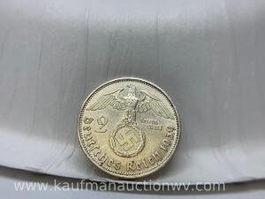 1939 silver Germany coin