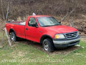 2000 F150 4 x 4 Vin#1FTZF1827YNA37529 HAVE TITLE ( FOR JUNK )