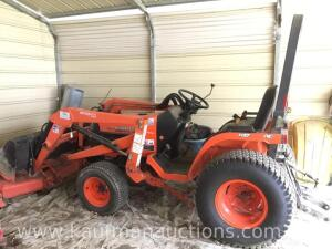 Kubota B5710 tractor with 5 foot mowing deck Model# SFB-F24