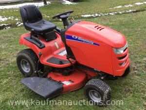 "38"" simplicity lawnmower"
