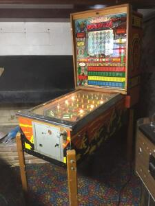 Bally Bonanza pin ball machine