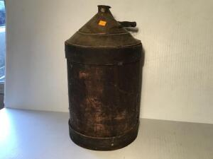 Wooden sided kerosene can