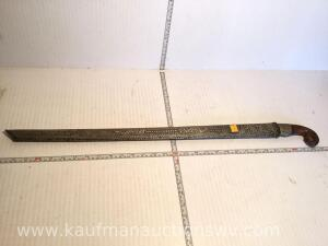 Made in Indonesia sword Bought in mid to late 1930s