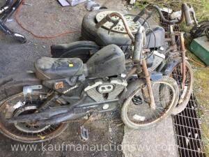 Two Blackhawk roadmaster minibikes