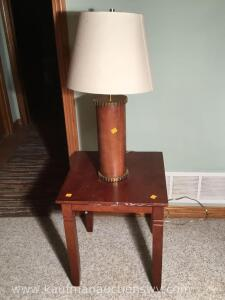 Lampstand and electric lamp