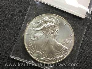 2012 uncirculated silver eagle