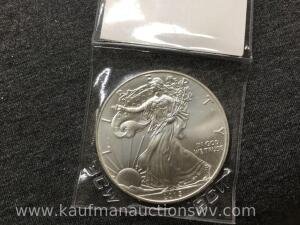 2015 uncirculated silver eagle