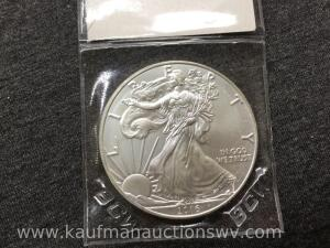 2016 uncirculated silver eagle