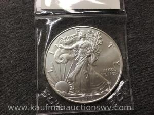 2018 uncirculated silver eagle
