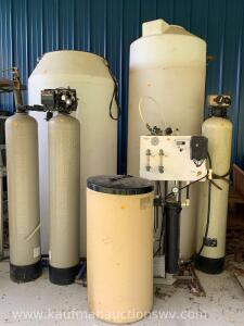 car wash soap tanks and water treatment tanks