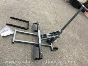 "Pittsburgh 300 pound 40"" riding lawnmower lift"