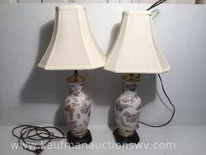 Electrical table lamps