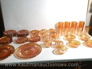 lusterware iridescent dishes