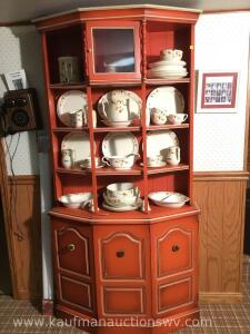 Antique China Display hutch