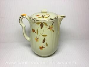 "8"" hall jewel tea pitcher"