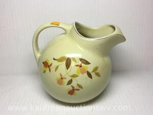 "7 1/2"" hall jewel tea pitcher"