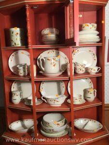 Approximately 49 pieces hall jewel tea