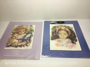 "16"" x 20"" great American doll company pictures"