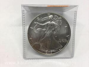 2003 uncirculated silver eagle