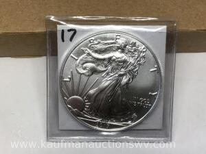 2017 uncirculated silver eagle