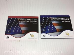2013 United States mint uncirculated coin set