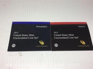 2011 United States mint uncirculated coin set