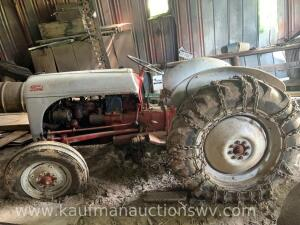 1948 Ford 14-4 Dearborn Tractor with 6' mower bar Serial #17231