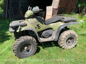 1999 Polaris sportsman 4 x 4 four wheeler NO TITLE VIN# 5433293/01
