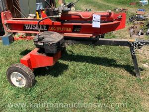 Huskee 650 series 190 cc engine 22 ton log splitter