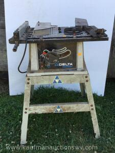 Delta shop master table saw