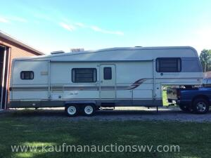 1994 Holiday rambler imperial 32' 5th wheel camper -vin #1KB37140RW011870 HAVE TITLE