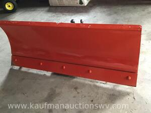5 foot Kubota V4308A snow plow -serial #21524005 -used once