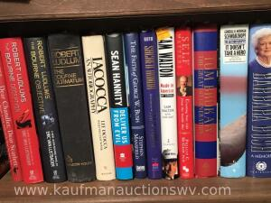 Robert Ludlum's, George Bush, Barbara bush, and more books