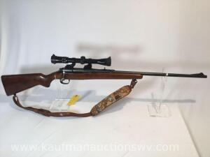 Remington Model 722 Roberts bolt action .257 -w/sling and bushnell sportview 3-9 scope -serial #154439