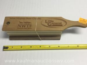 NWTF West Virginia turkey call – three different types of wood