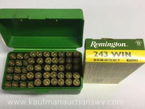 54 Remington 243 win and 16 casings